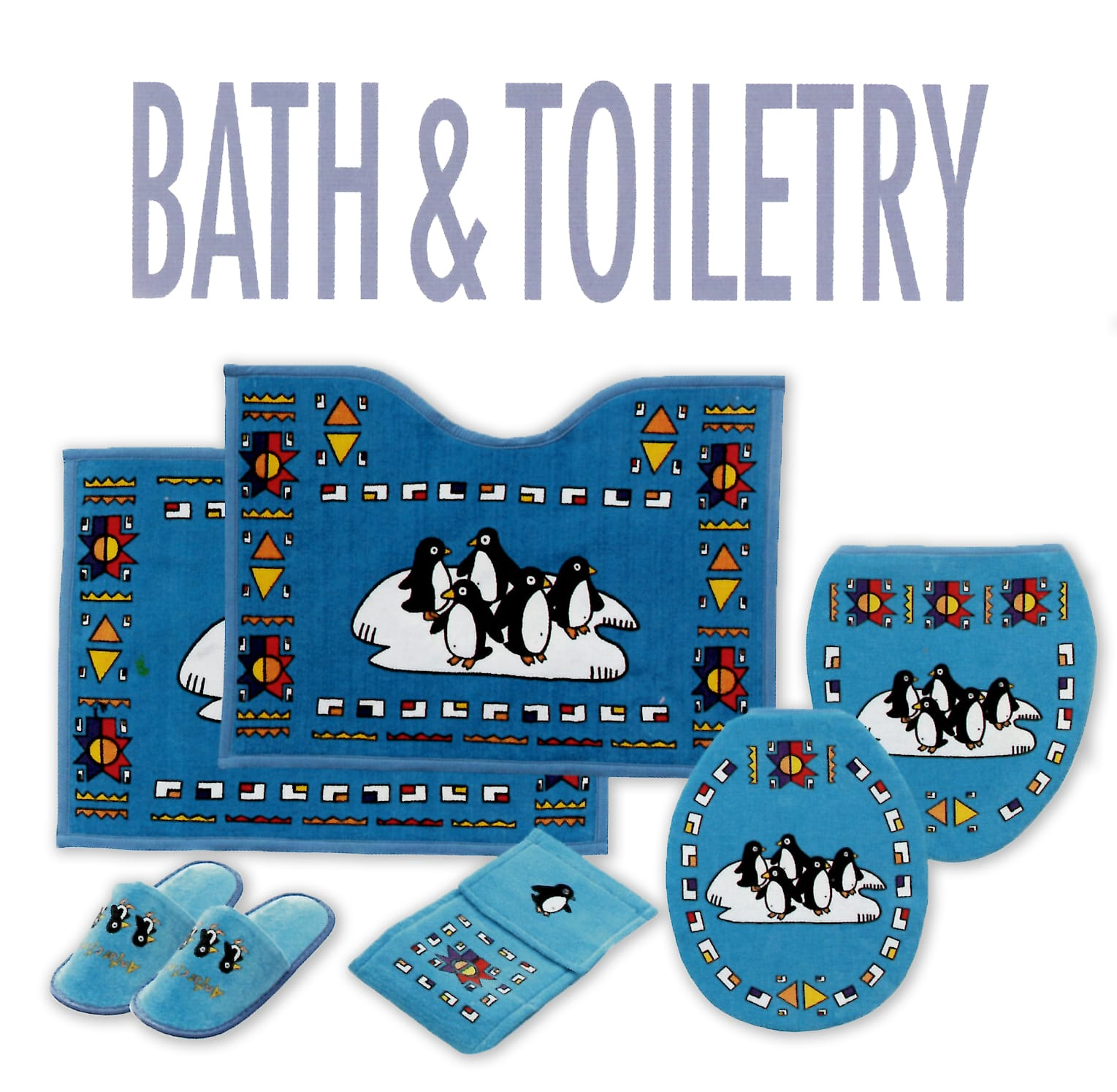 Blue Bath and Toiletry for kids